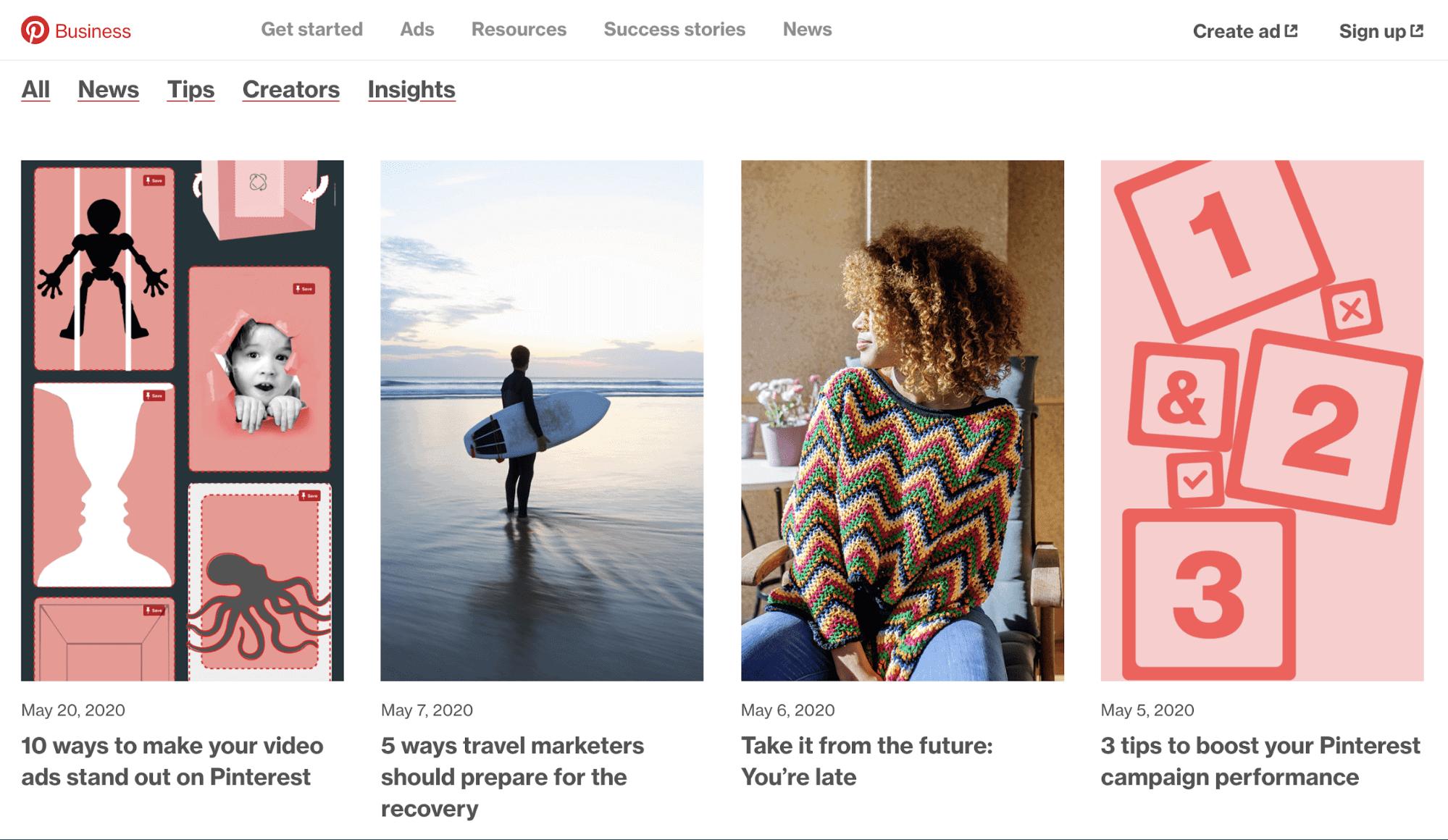 Pinterest Business Blog