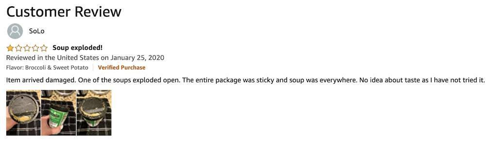 Amazon CPG Reviews